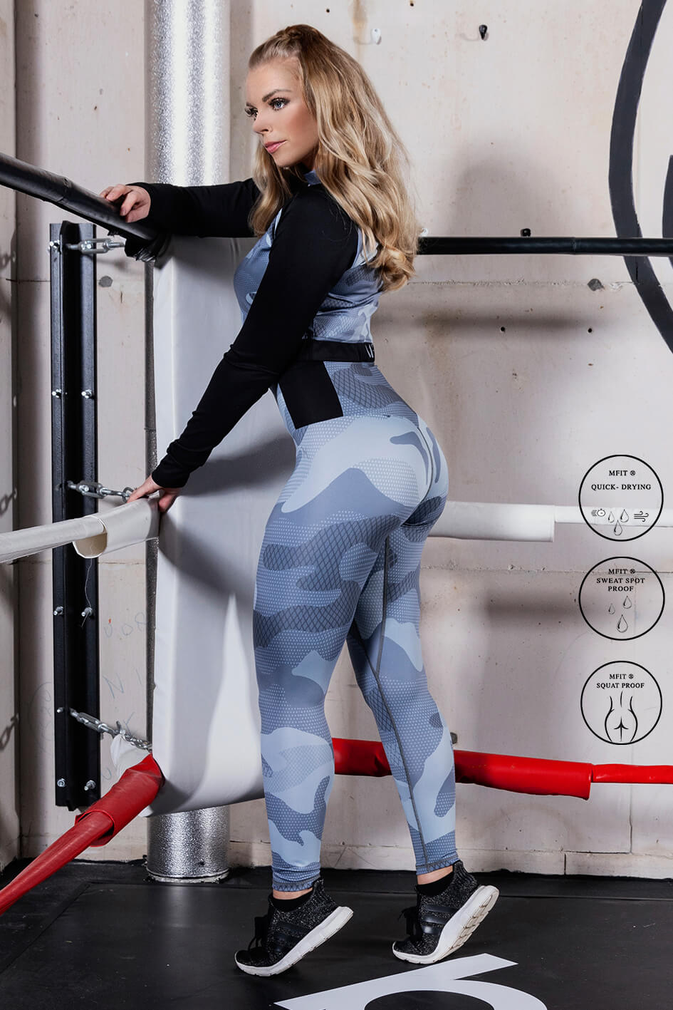 MFIT Accent Camo Gymtight