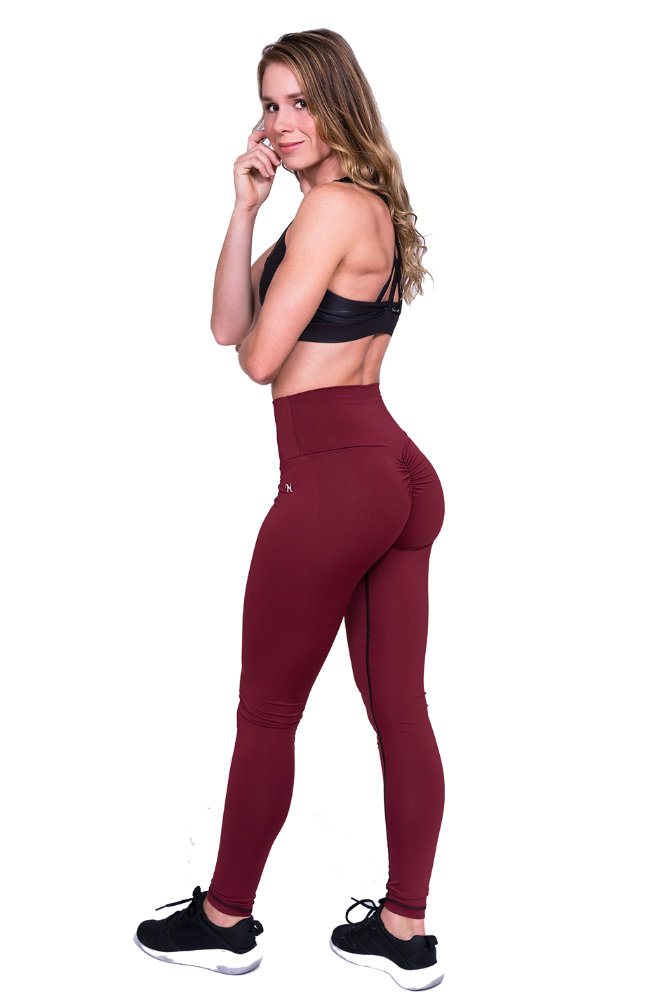 Mooie Sportlegging.Mfit Shaper Burgundy Mfit