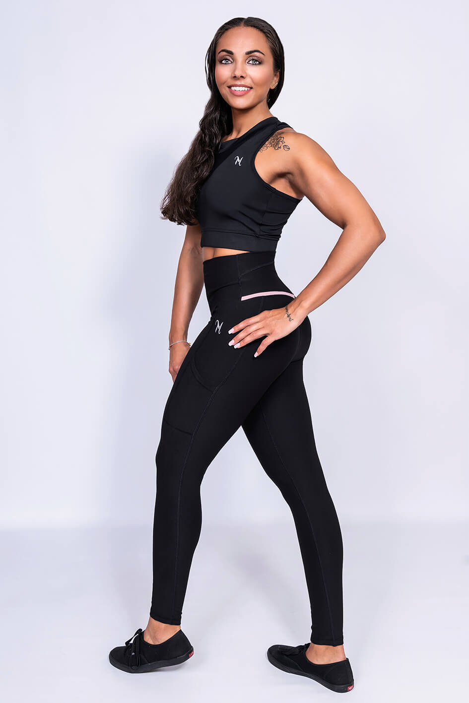 MFIT Elemance Gymtight Black