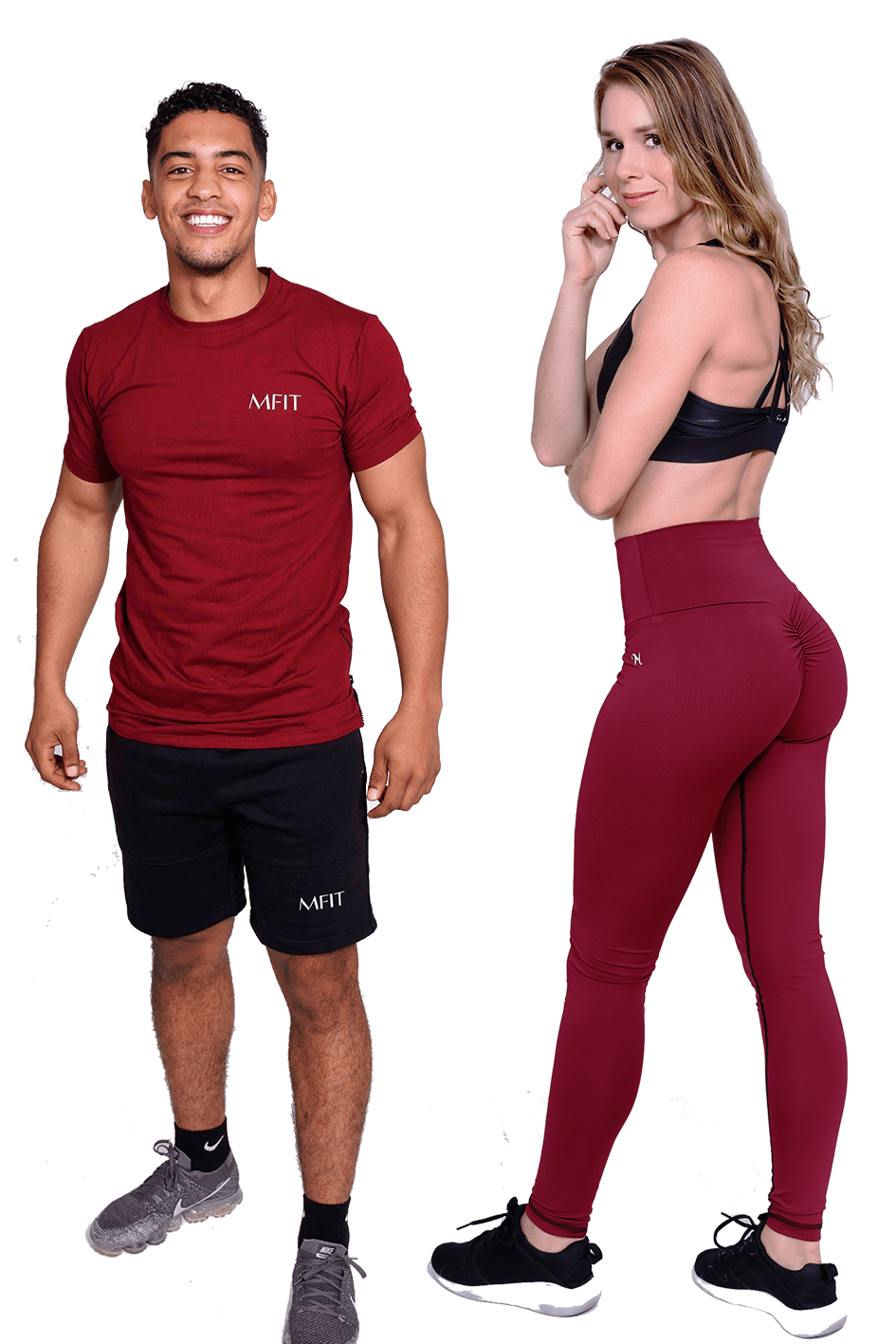 MFIT HISHERS Burgundy Set